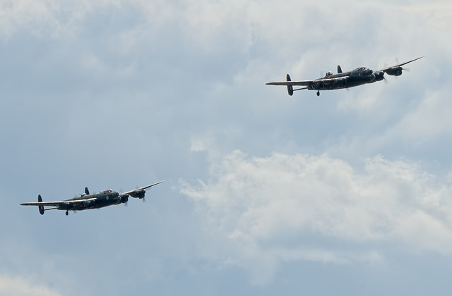 Pair of Lancasters