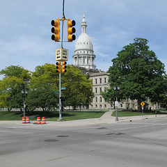 The Michigan State Capitol!