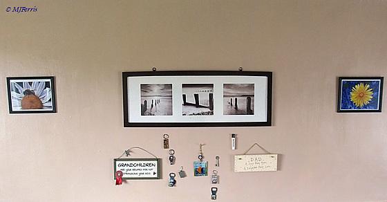 photos hung