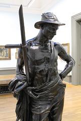 The Mower, by William Hamo Thornycroft, Walker Art Gallery, Liverpool