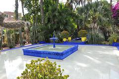 fontaine des jardins de Jacques Majorelle