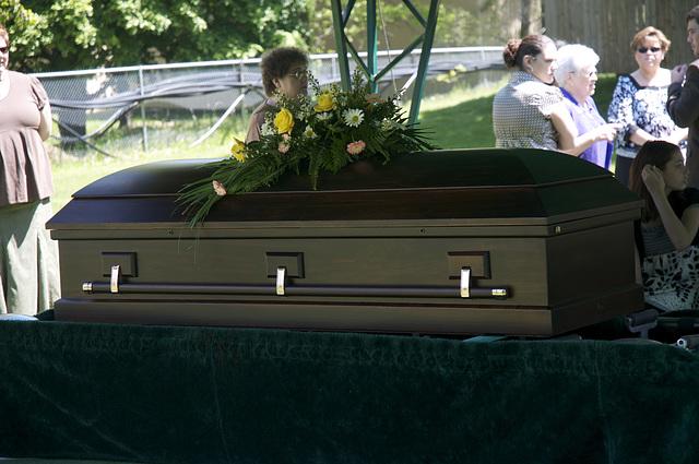 Doris Dinda's Funeral