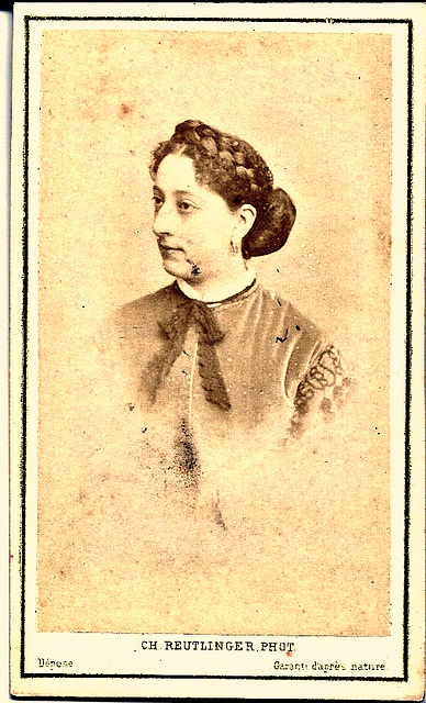 Marie Cico by Reutlinger