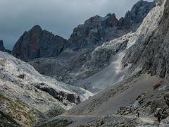 Les pics d'Europe dans les Asturies en Espagne.