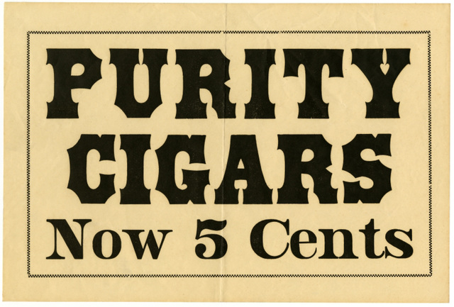 Purity Cigars Now 5 Cents