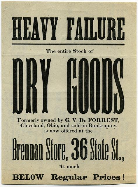 Heavy Failure Dry Goods