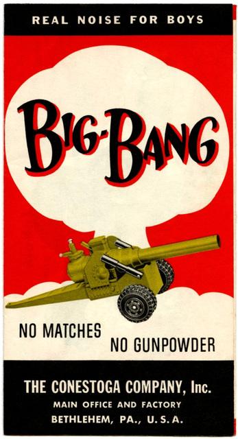 Big-Bang Real Noise for Boys