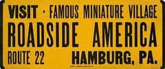 Roadside America, Famous Miniature Village, Route 22, Hamburg, Pa.