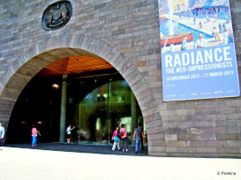 Entrance to Melbourne Arts Centre (1)