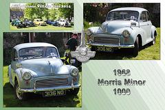 1968 Morris Minor 1000 - Bishopstone Village Fete - 3.5.2014