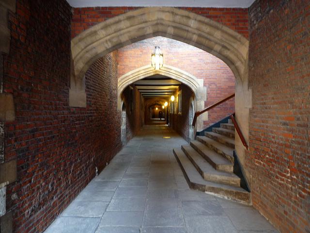 below stairs