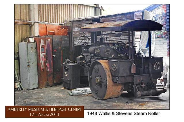 1948 Wallis & Stevens Steam Roller - Amberley - 17.8.2011
