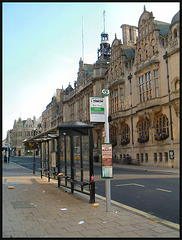 obtrusive new bus-stop signs