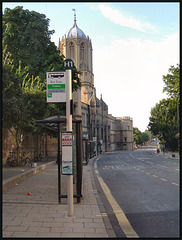 obtrusive new bus stop signs