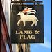 Lamb & Flag pub sign