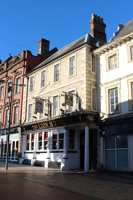 The Lion Hotel, No.112 Bridge Street, Worksop, Nottinghamshire