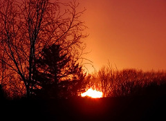 Un ciel de feu….
