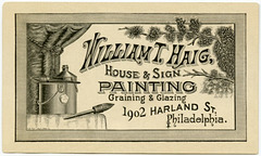 William T. Haig, House and Sign Painting, Philadelphia, Pa.