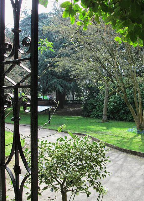 Entrance - Old Parsonage.