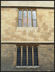 Bodleian before and after