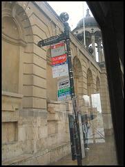 old Queen's Lane bus stop