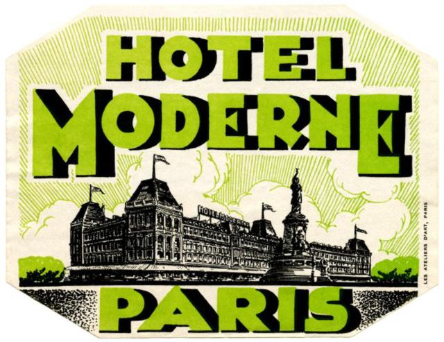 Hotel Moderne, Paris