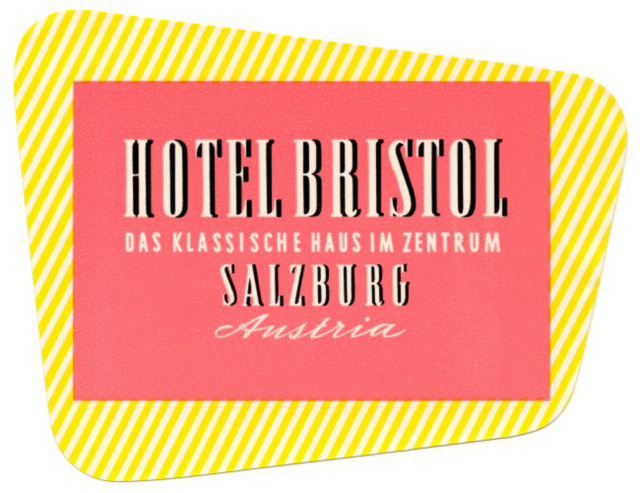 Hotel Bristol, Salzburg, Austria