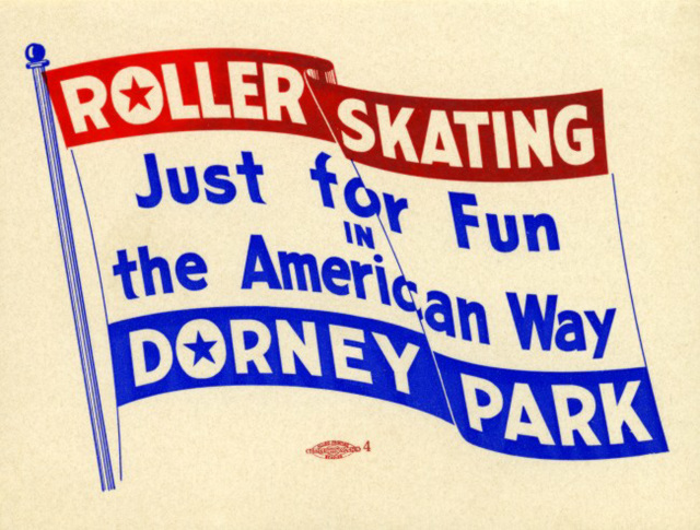 Dorney Park Roller Skating Just for Fun in the American Way