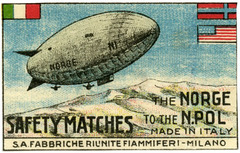 The Norge to the North Pole Safety Matches