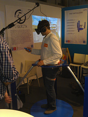 "CYBERITH - omnidirectional ""treadmill"" from TU Vienna"