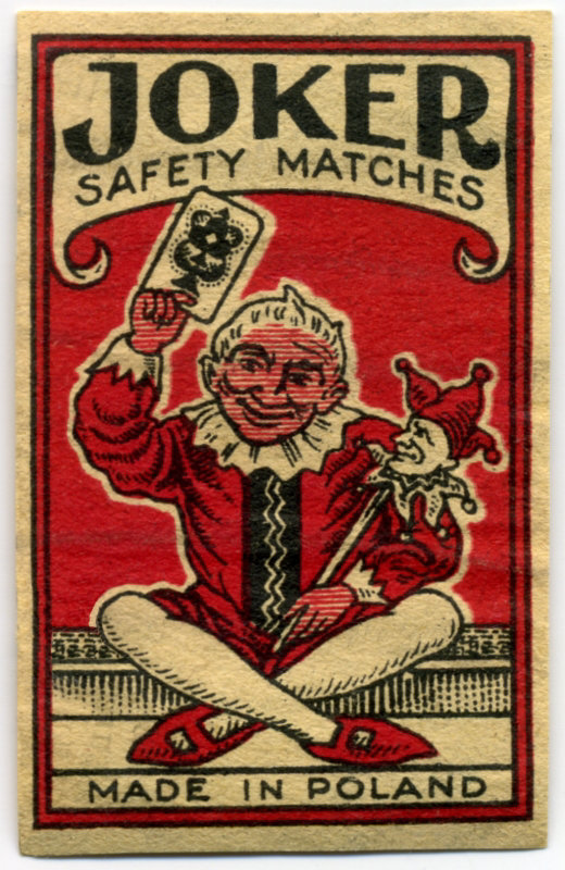 Joker Safety Matches
