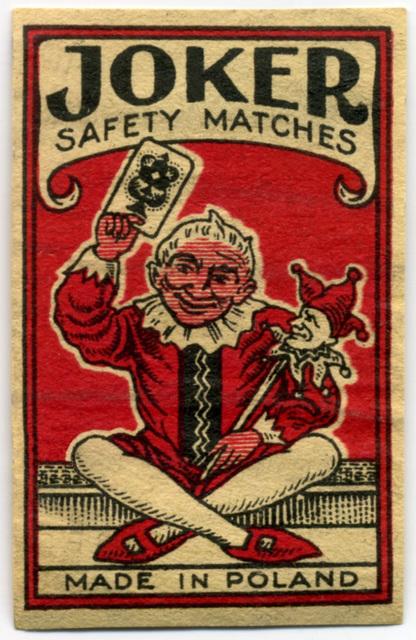 Joker Safety Matches