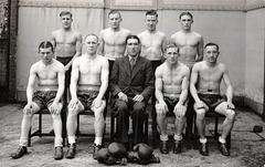 Boxing Squad 1930s Norwich