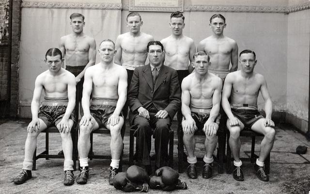 ipernity: Boxing Squad 1930s Norwich - by A Buildings Fan