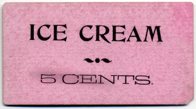 Ice Cream, 5 Cents