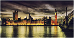 Houses of Parliament, Big Ben & Westminster Bridge