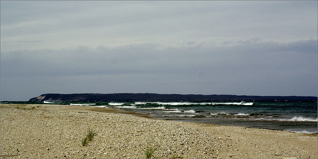 South Manitou Island, across the Breakers