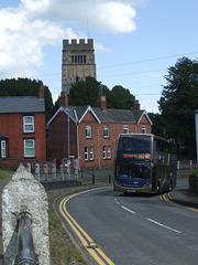 DSCF5204 Stagecoach Midlands (United Counties) YN63 BYG