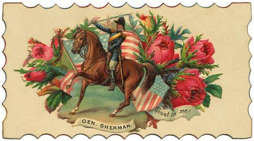 General Sherman Calling Card