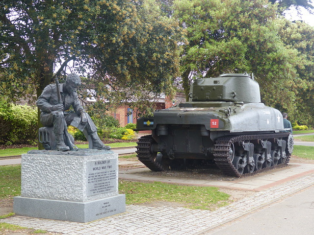 Soldier and Tank - 2 June 2014