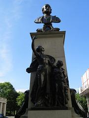 lister memorial on  portland place , marylebone, london