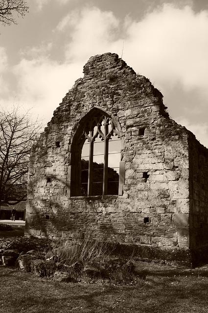 12th Century Chapel at Brockhampton