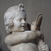 Detail of the Sculpture of the Boy with Goose in the Vatican Museum, July 2012