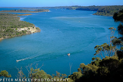 Reeves channel and Gippsland Lakes