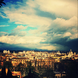 Postcard from Roma.