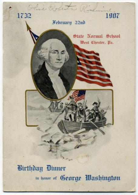 Birthday Dinner in Honor of George Washington