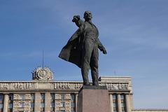 Lenin Statue, Moskovskaya Square