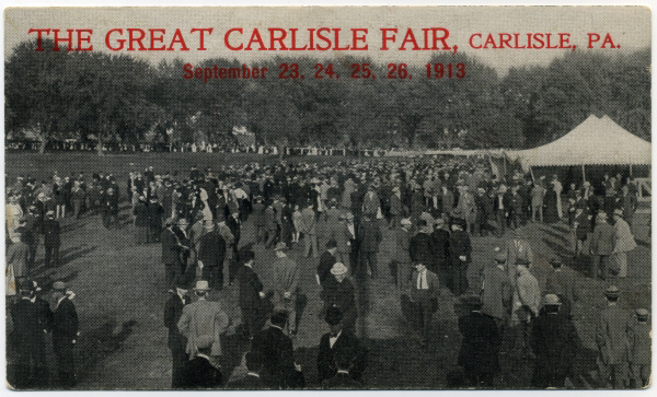 The Great Carlisle Fair, Carlisle, Pa., 1913