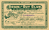 Down and Out Club Membership Card, 1906