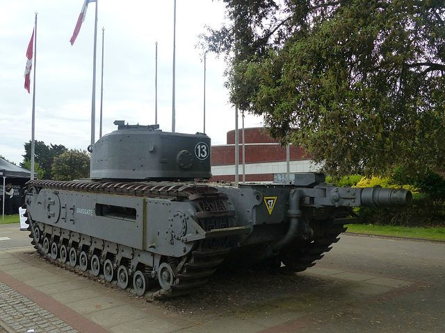 Churchill Tank (1) - 2 June 2014